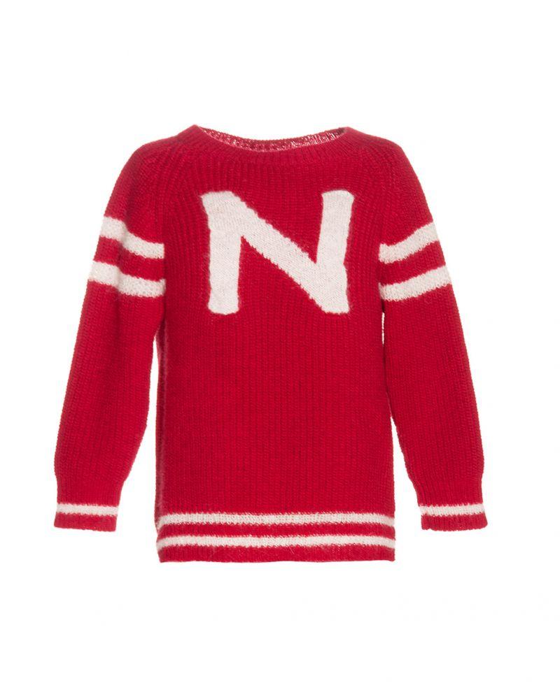 Coleccion Baño Punto Rojo: Niña > Chaquetas Jerseys y Sudaderas > Jersey Punto Rojo Nanos Niños