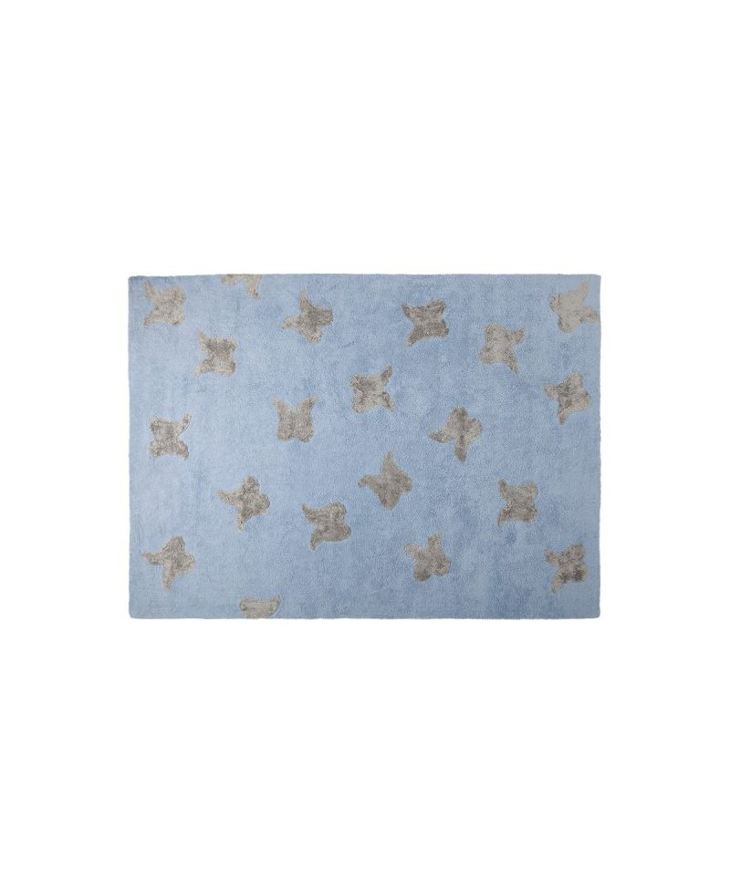 Alfombra lavable lorena canals wings azul ro infantil - Alfombras infantiles lavables lorena canals ...