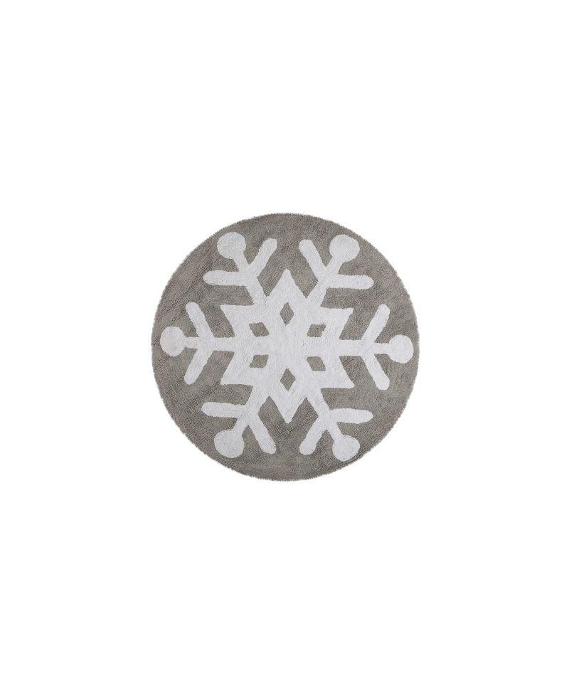 Alfombra lavable lorena canals snowflake gris ro infantil - Alfombras infantiles lavables lorena canals ...