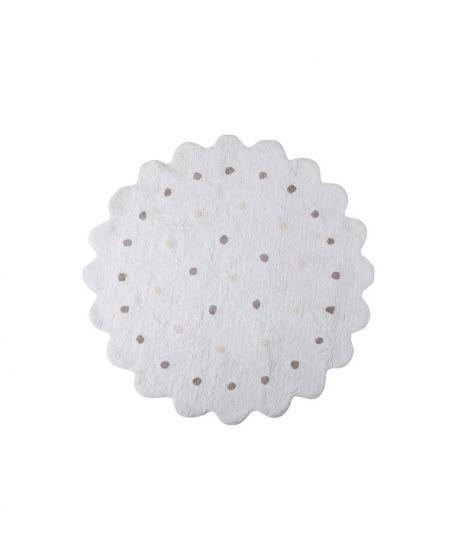 Alfombra lavable lorena canals galletita blanca ro infantil - Lorena canals alfombras ...