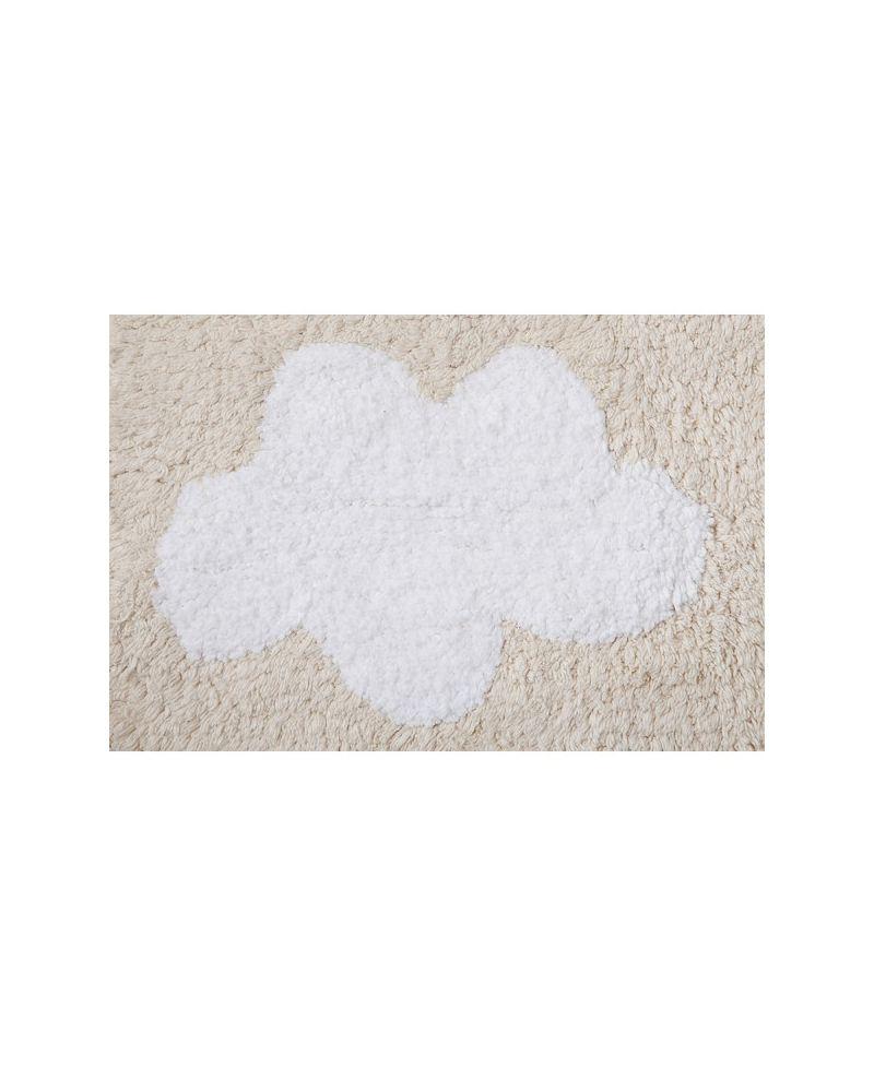 Alfombra lavable lorena canals cenefa nubes crema ro - Lorena canals alfombras ...