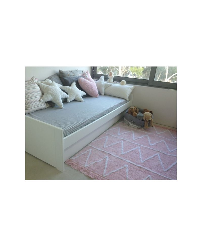 Alfombra lavable lorena canals hippie pink ro infantil - Alfombras infantiles lavables lorena canals ...