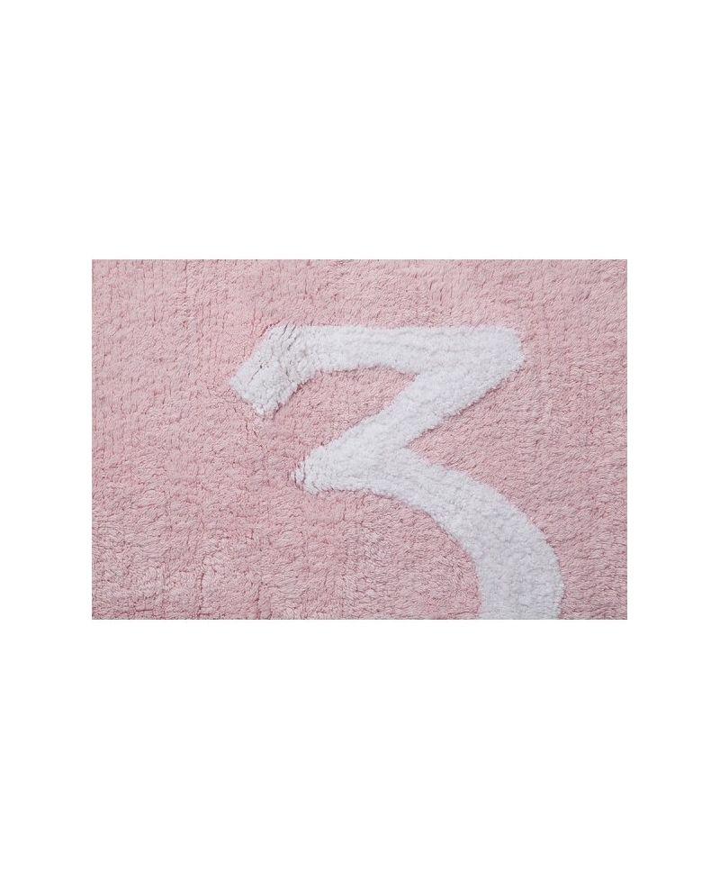 Alfombra lavable numeros rosa lorena canals ro infantil - Alfombras bebe lorena canals ...