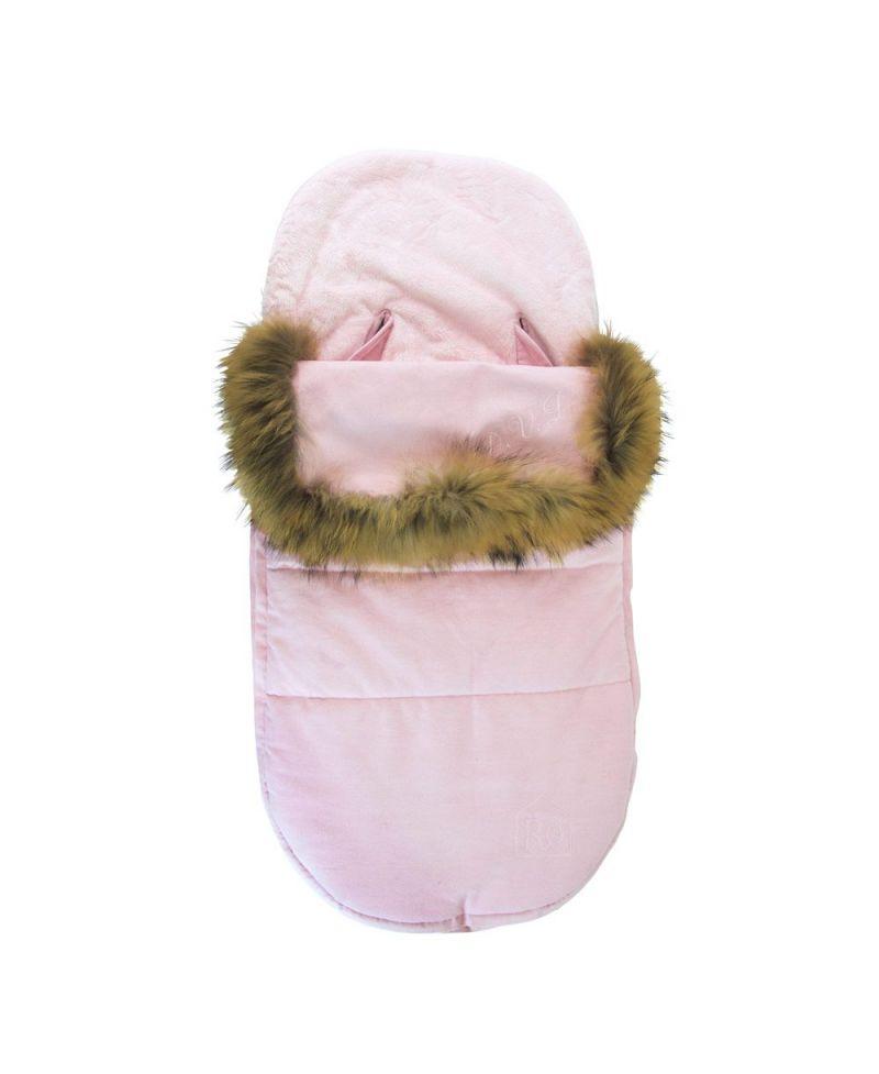 Saco silla bebe ro infantil rosa pelo ro infantil - Sacos silla bebe baratos ...