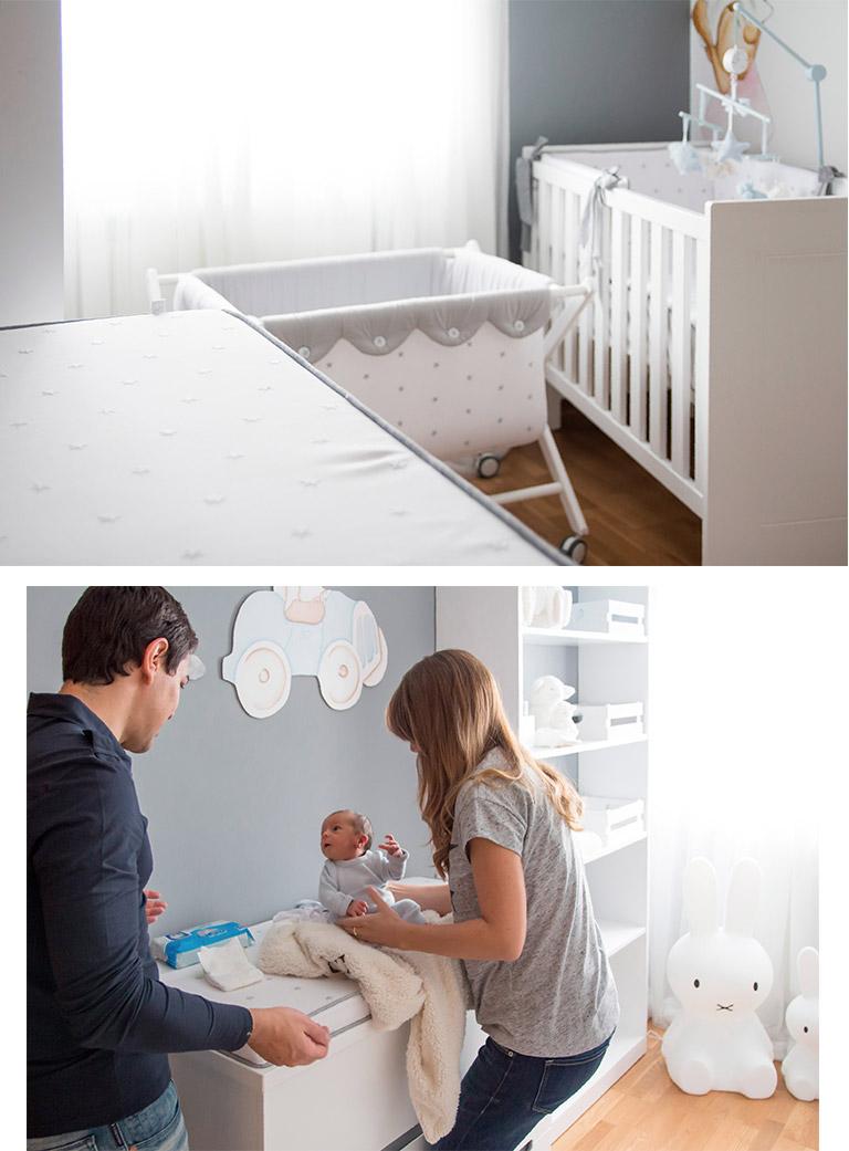 Un dormitorio de bebe de ensue o blog de moda infantil - Dormitorio infantil nino ...