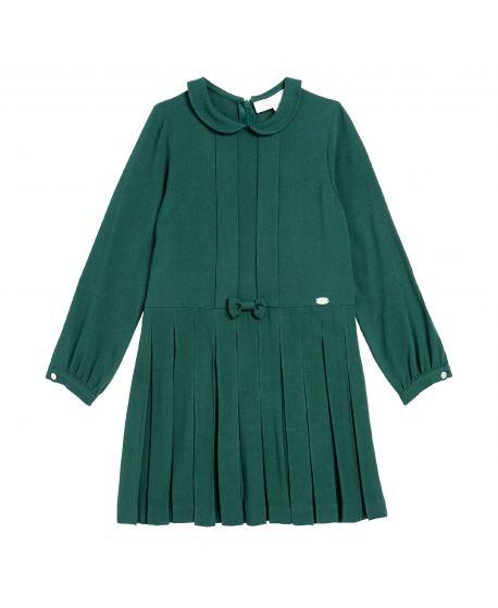 Vestido Niña Verde Oscuro Tartine et Chocolat