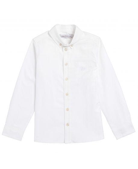 Camisa Niño Blanca Tartine et Chocolat