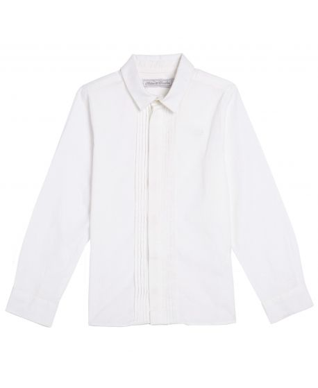Camisa de Vestir Niño Blanca Tartine et Chocolat