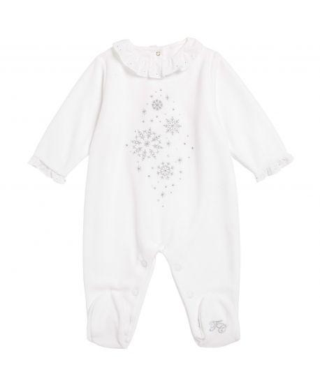 Pijama Bebe Blanco Copos Strass Tartine et Chocolat