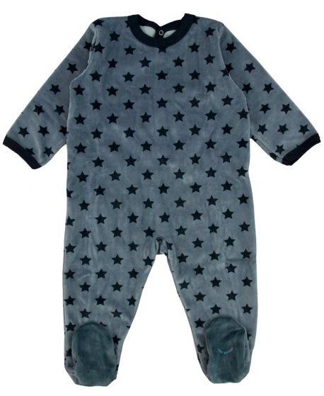 Pijama Bebe Petit Bateau Marino Estrellas