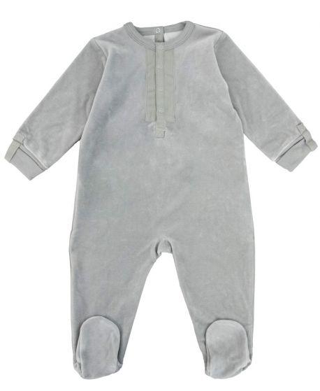 Pijama Bebe Petit Bateau Gris