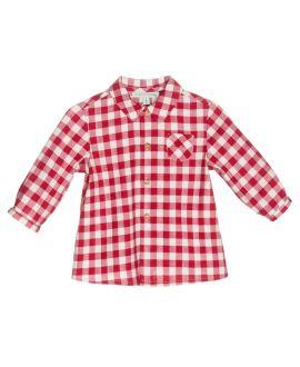 Camisa Franela Rojo Nanos Bebe Niño