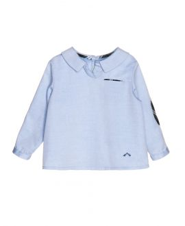 Camisa Oxford Celeste Nanos Bebe Niño
