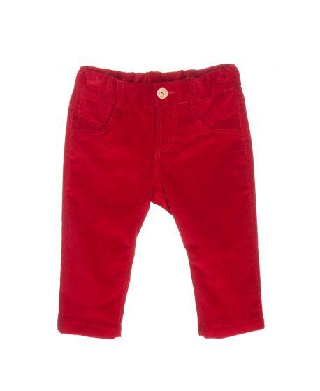 Pantalon Micropana Rojo Nanos Bebe Niño