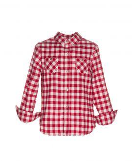 Camisa Viella Rojo Nanos Niño