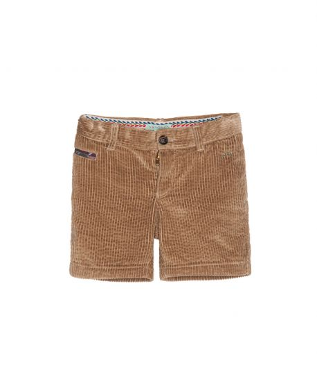 Pantalon Pana Beige Nanos Niño