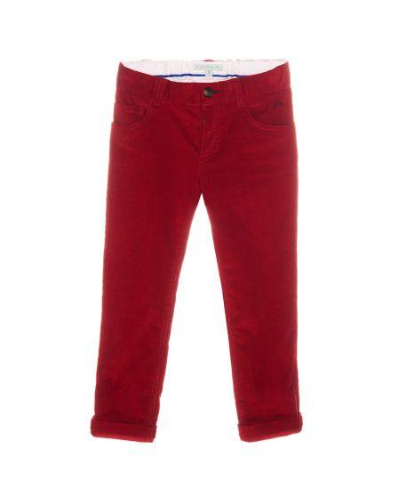 Pantalon Micropana Rojo Nanos Niño