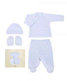 Kit Regalo Canastilla Baby Tous Milosos Azul