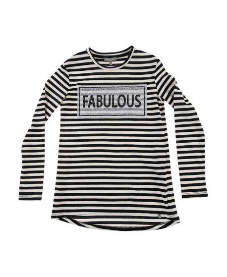Camiseta Niña Miss Grant Rayas Fabulous
