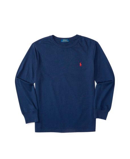 Camiseta Niño Polo Ralph Lauren Básica Marino