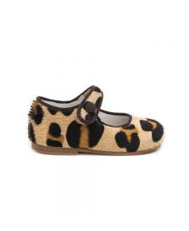 Zapato Bebe Niña Eli Potro Leopardo