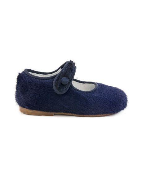 Zapato Bebe Niña Eli Potro Navy