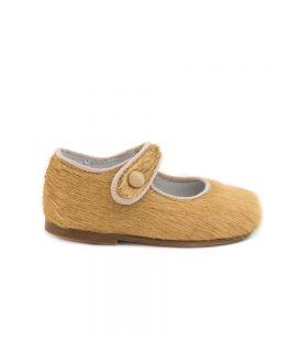 Zapato Bebe Niña Eli Potro Camel