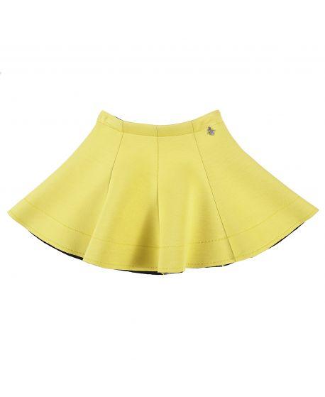 Falda Niña L:U L:U Amarilla