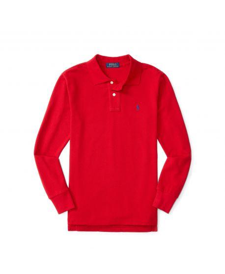 Polo Niño Ralph Lauren Custom Rojo