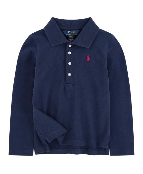 Polo Niña Polo Ralph Lauren Custom Marino