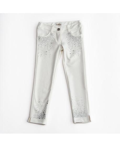 Pantalon Niña Miss Grant con Piedras Preciosas