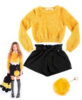 Conjunto Niña L:U L:U Amarillos