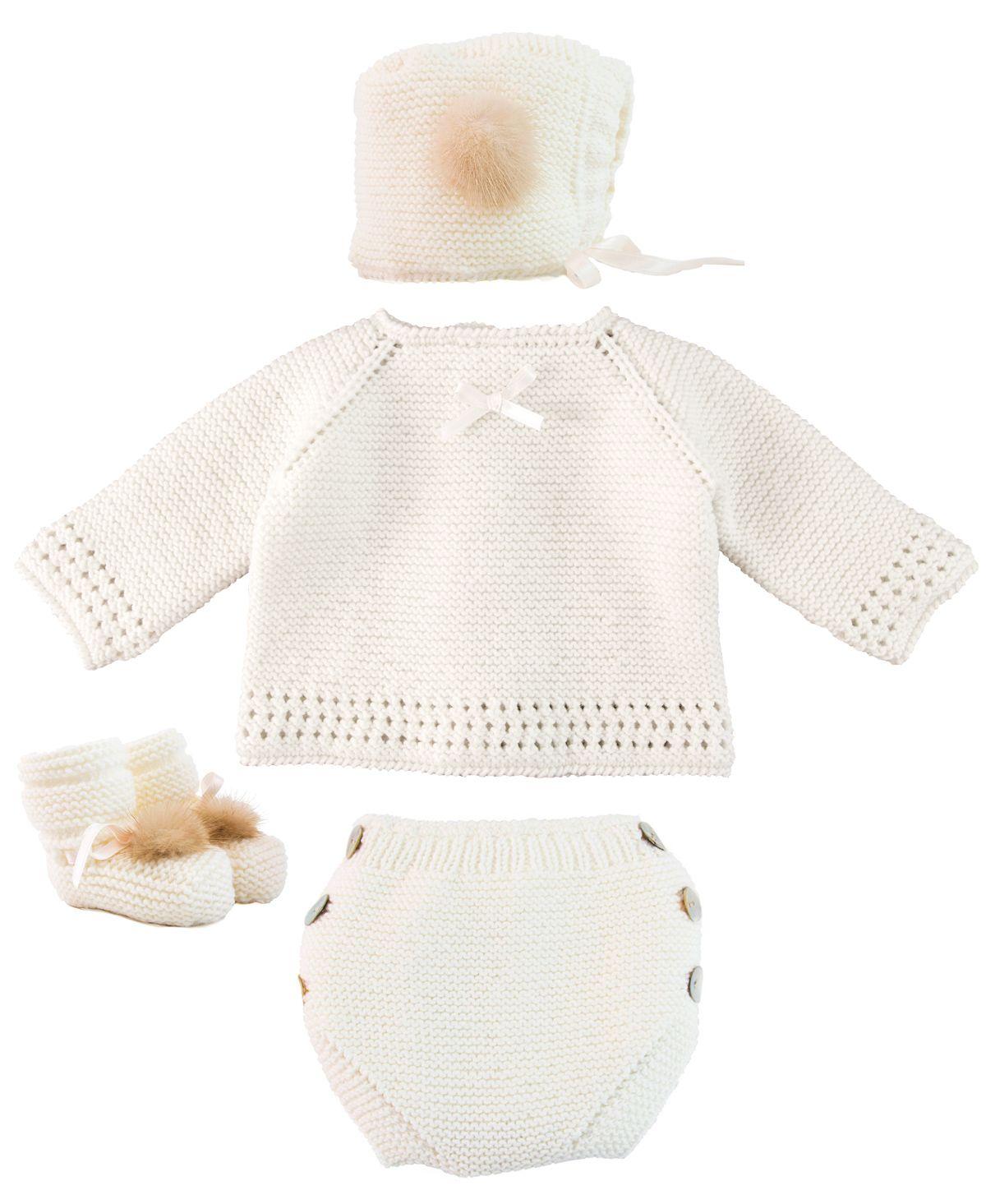 Conjunto Bebe RO INFANTIL Punto Crudo - Ro Infantil 98d80dce4c0