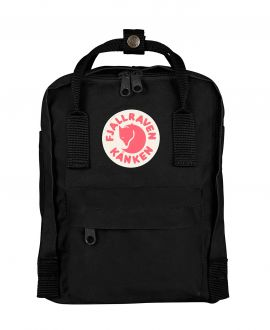 Mochila Fjallraven Kanken Mini Black