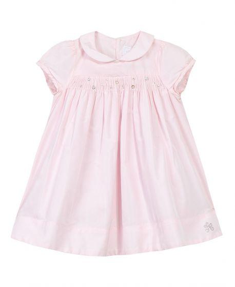 Vestido Bebe Niña TARTINE ET CHOCOLAT Rosa Detalles Strass