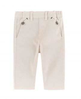 Pantalon Niño TARTINE ET CHOCOLAT Regular Beige