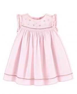 Vestido Bebe Niña TARTINE ET CHOCOLAT Rosa bordado
