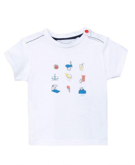 Camiseta Niño TARTINE ET CHOCOLAT Playa Coral