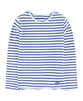 Camiseta Niño ZADIG&VOLTAIRE Rayas Azul y Blanca