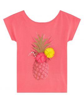 Camiseta Niña BILLIEBLUSH Rosa Piña