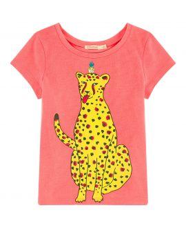 Camiseta Niña BILLIEBLUSH Fuchsia Bananas