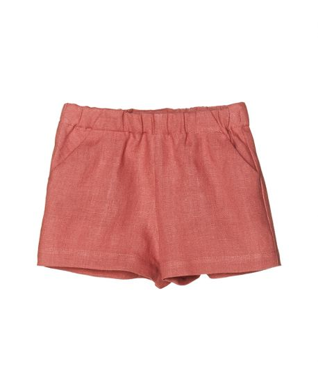 Pantalon Lino Rosa NANOS Bebe Niño