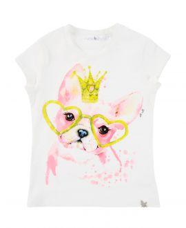 Camiseta Niña L:U L:U Dog
