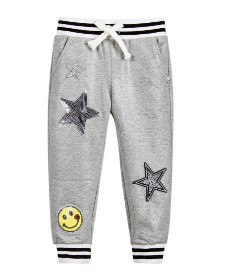 Pantalon Chandal Niña SO TWEE Parches Strass