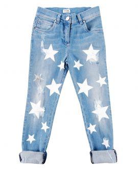 Pantalon Vaquero Niña SO TWEE Estrellas