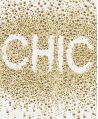 Camiseta Niña MICROBE Strass Dorado 'Chic'