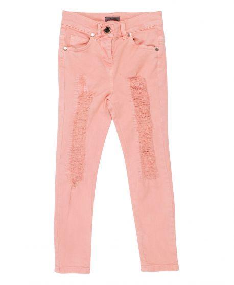 Pantalon Niña MISS GRANT Rosa Elástico