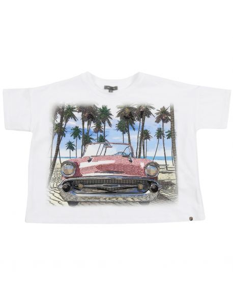 Camiseta Niña MISS GRANT Playa Coche