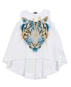 Camiseta Niña MISS GRANT Tigre Sin Mangas