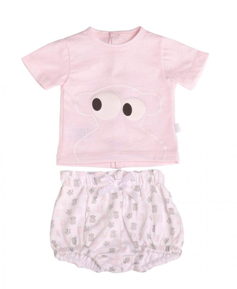 Pijama Bebe Niña BABY TOUS Rosa Face - Ro Infantil c5bb2ea68db5